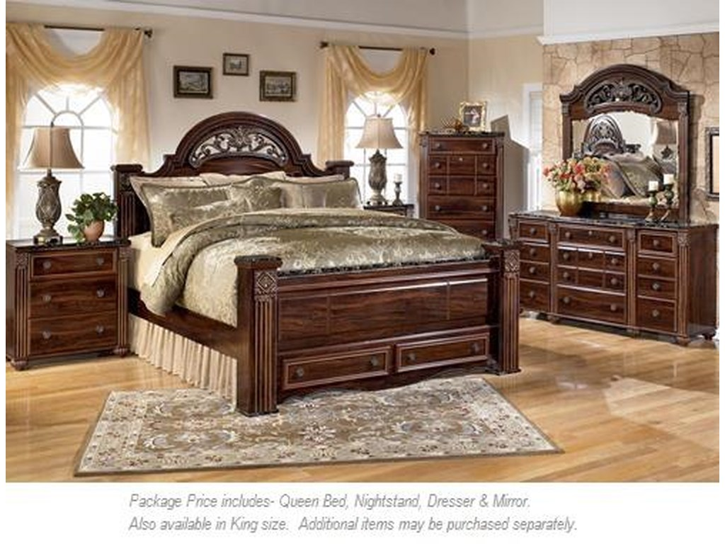 Signature Design by Ashley Gabriela4PC Queen Bedroom