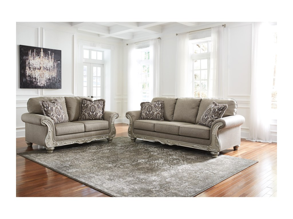 Signature Design by Ashley GailianStationary Living Room Group