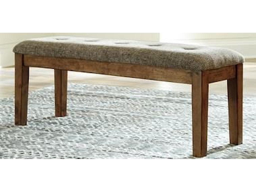 Morris Home GainsvilleGainsville Upholstered Dining Bench