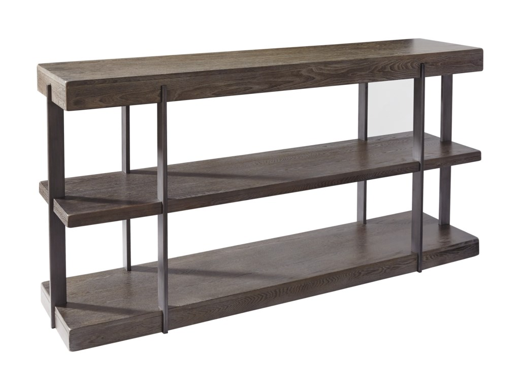 Signature Design By Ashley Gantoni T Industrial Sofa Table - Ashley center table