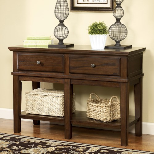 Signature Design by Ashley Gately Sofa Console Table/Tall TV Stand