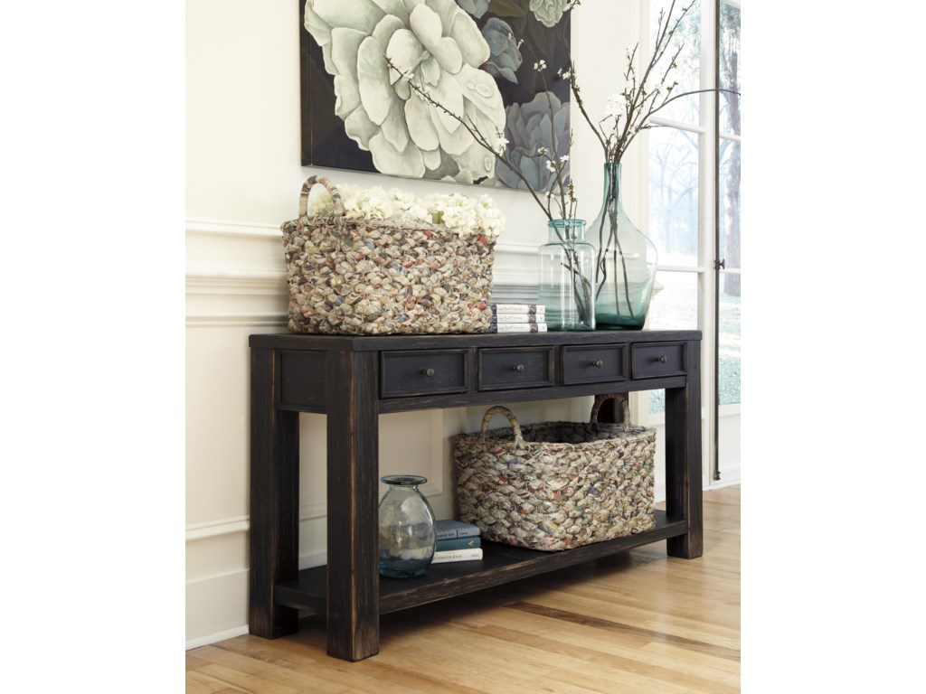 Signature GavelstonSofa Table