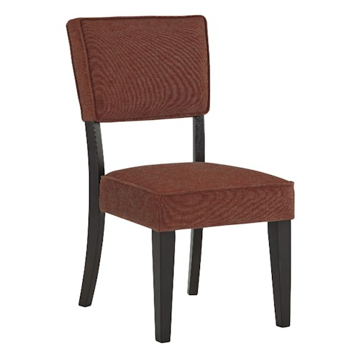 Signature Design by Ashley Gavelston Dining Upholstered Side Chair, Brick Color
