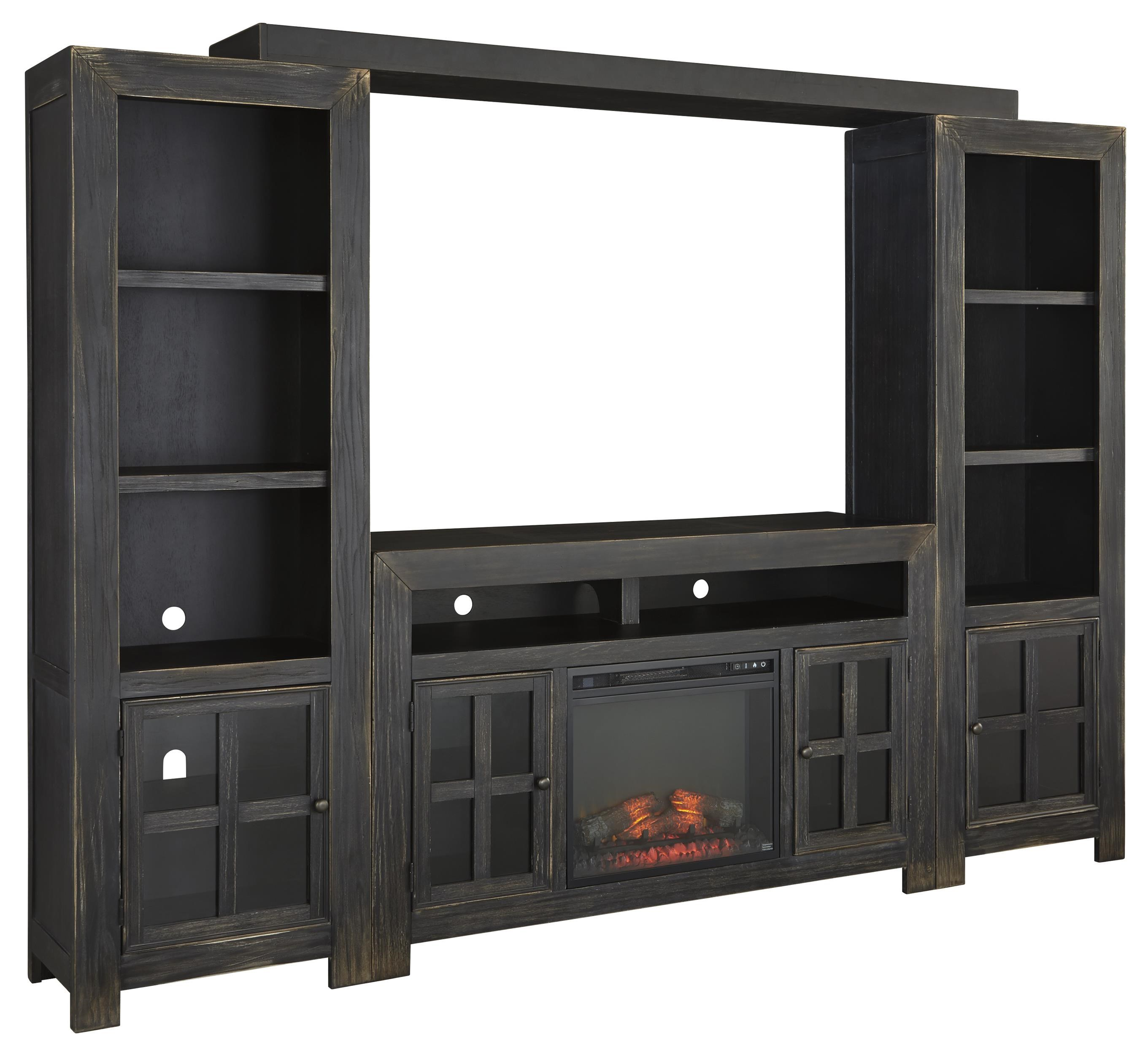 Size 1024x768 home office wall unit Bookshelf Gavelston Entertainment Wall Unit W Large Tv Stand Fireplace Bridge And Piers By Signature Design By Ashley Value City Furniture Signature Design By Ashley Gavelston Entertainment Wall Unit