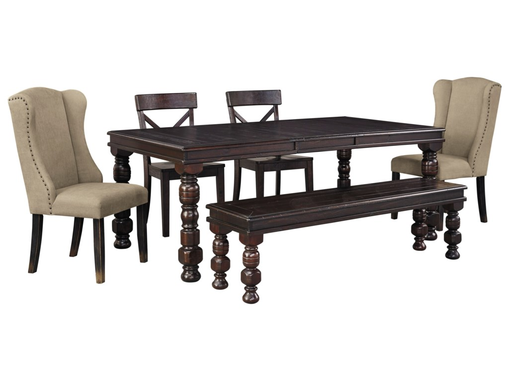 100 6 piece dining room set hazelwood home 6 piece for 6 x dining room chairs