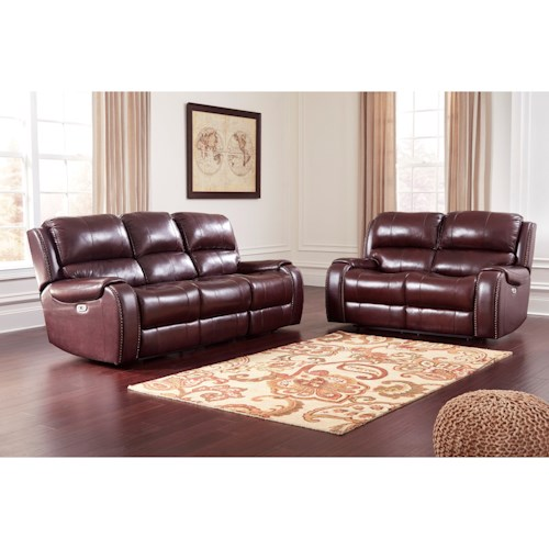 Signature Design by Ashley Gilmanton Reclining Living Room Group
