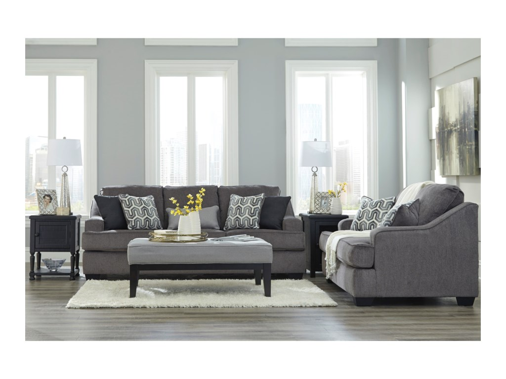 Signature Design by Ashley Gilmer Stationary Living Room Group ...