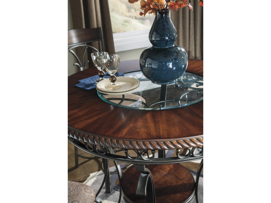 Signature Design by Ashley GlambreyRound Dining Room Counter Table