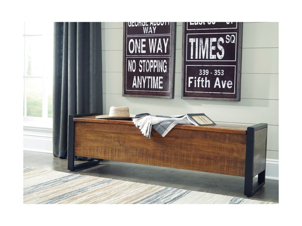 Signature Design by Ashley GloscoStorage Bench
