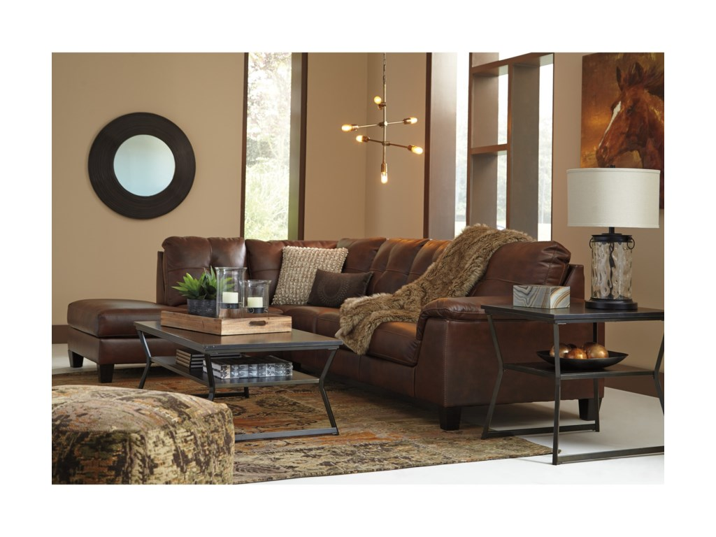 Signature Design by Ashley Goldstone2 Piece Sectional