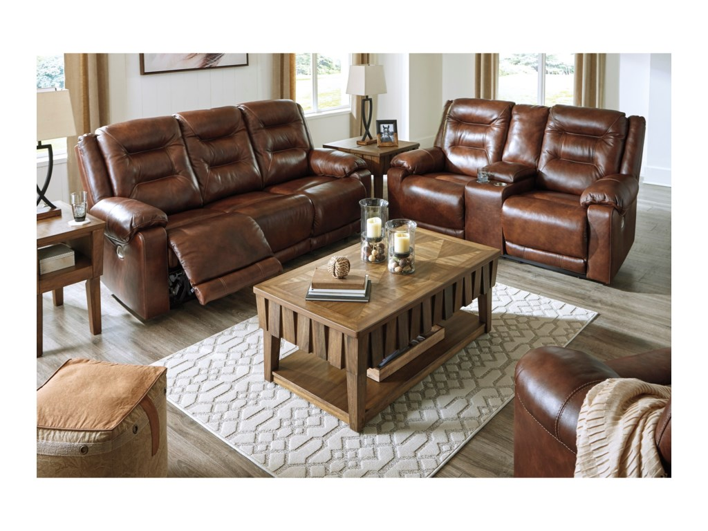 Signature Design by Ashley GolstoneReclining Living Room Group