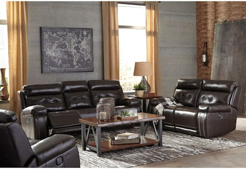 Signature Design by Ashley Graford Reclining Living Room Group