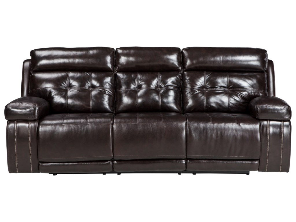 reclining power amax collections sofa recliner recliners leather
