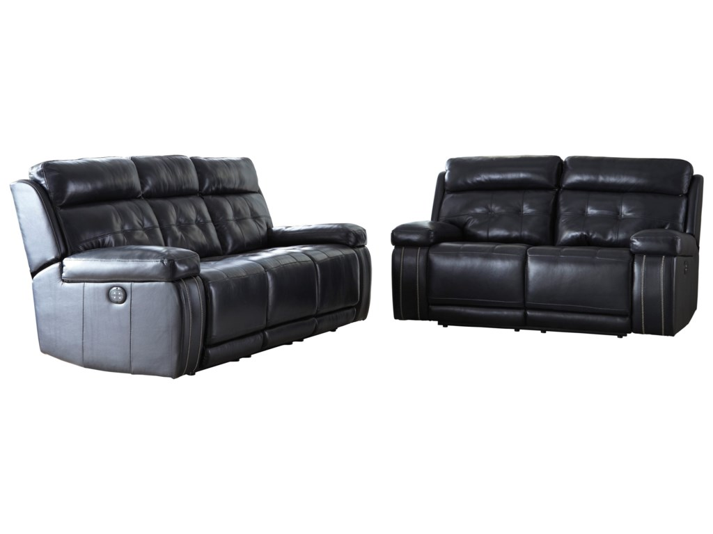 Signature Design by Ashley Graford Reclining Living Room Group ...