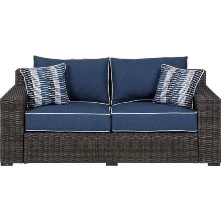 Loveseat w/ Cushion