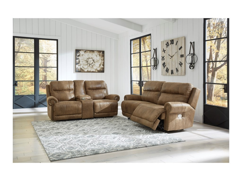 Signature Design by Ashley GrearviewPower Reclining Living Room Group