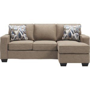Signature Design By Ashley Greaves Contemporary Sofa Chaise With Reversible Ottoman Rife S Home Furniture Sectional Sofas