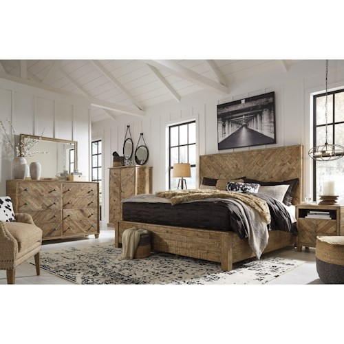 Signature Design by Ashley Grindleburg Queen Bedroom Group