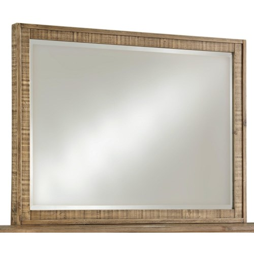 Signature Design by Ashley Grindleburg Rustic Bedroom Mirror