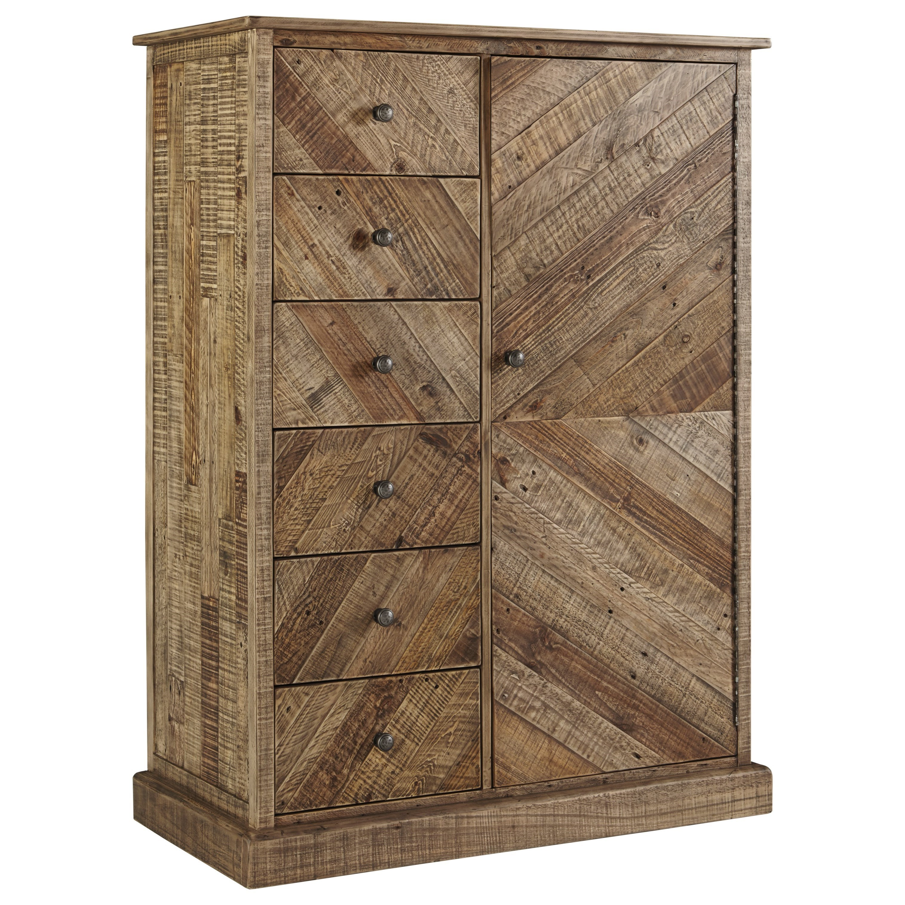 Signature Design by Ashley Grindleburg Rustic Door Chest  sc 1 st  Aladdin Home Store & Signature Design by Ashley Grindleburg Rustic Door Chest | Aladdin ...