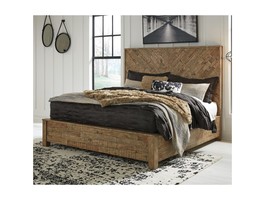 Signature Design by Ashley GrindleburgQueen Panel Bed