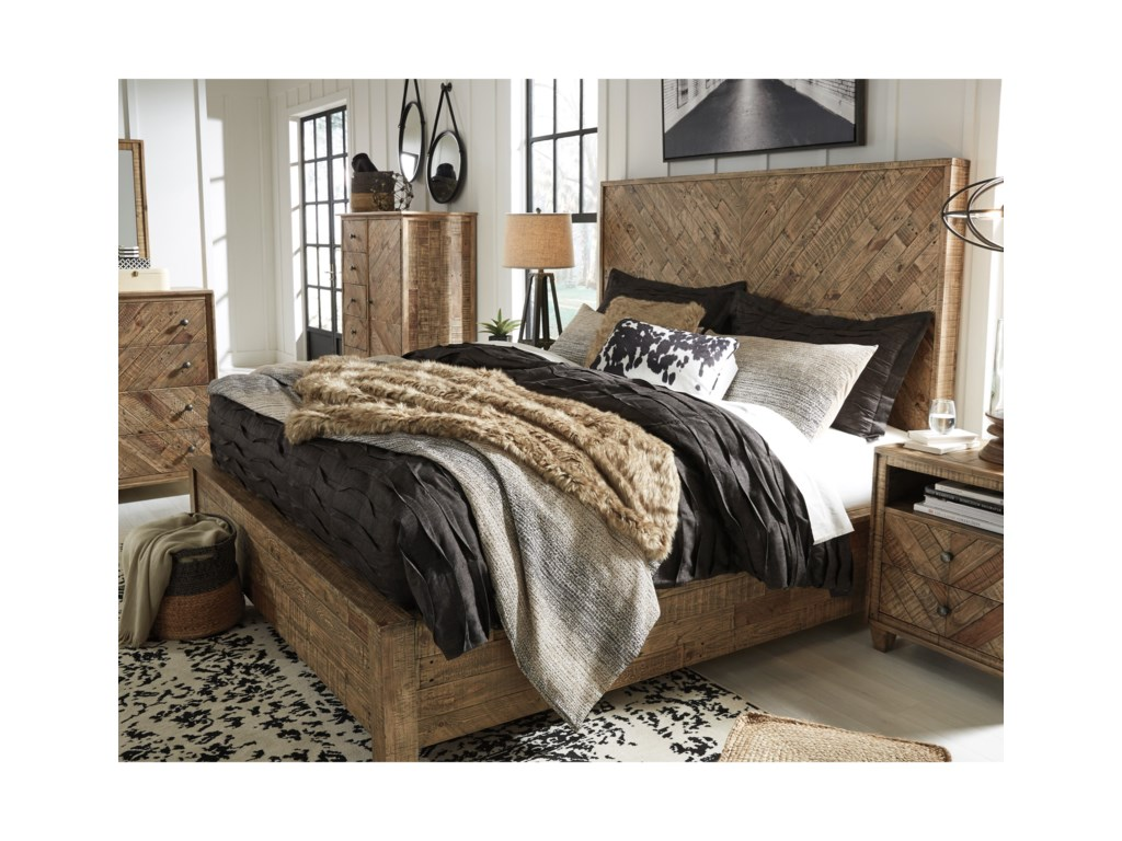 Signature Design by Ashley GrindleburgCalifornia King Panel Bed