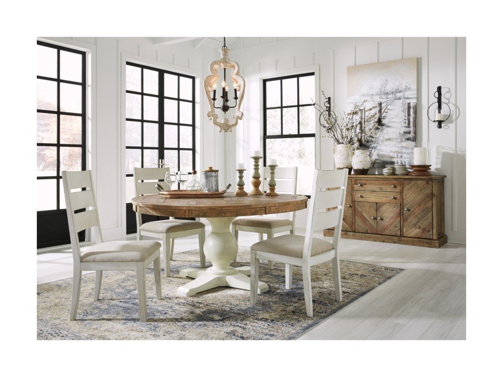 Signature Design by Ashley Grindleburg Casual Dining Room Group ...