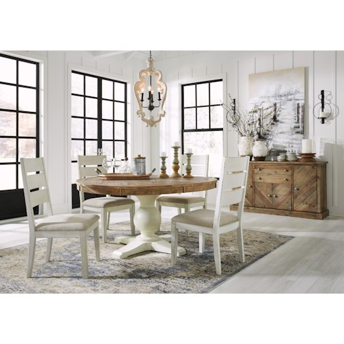 Signature Design by Ashley Grindleburg Casual Dining Room Group