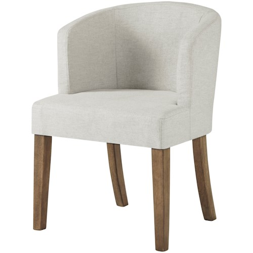 Signature Design by Ashley Grindleburg Dining Upholstered Barrelback Arm Chair