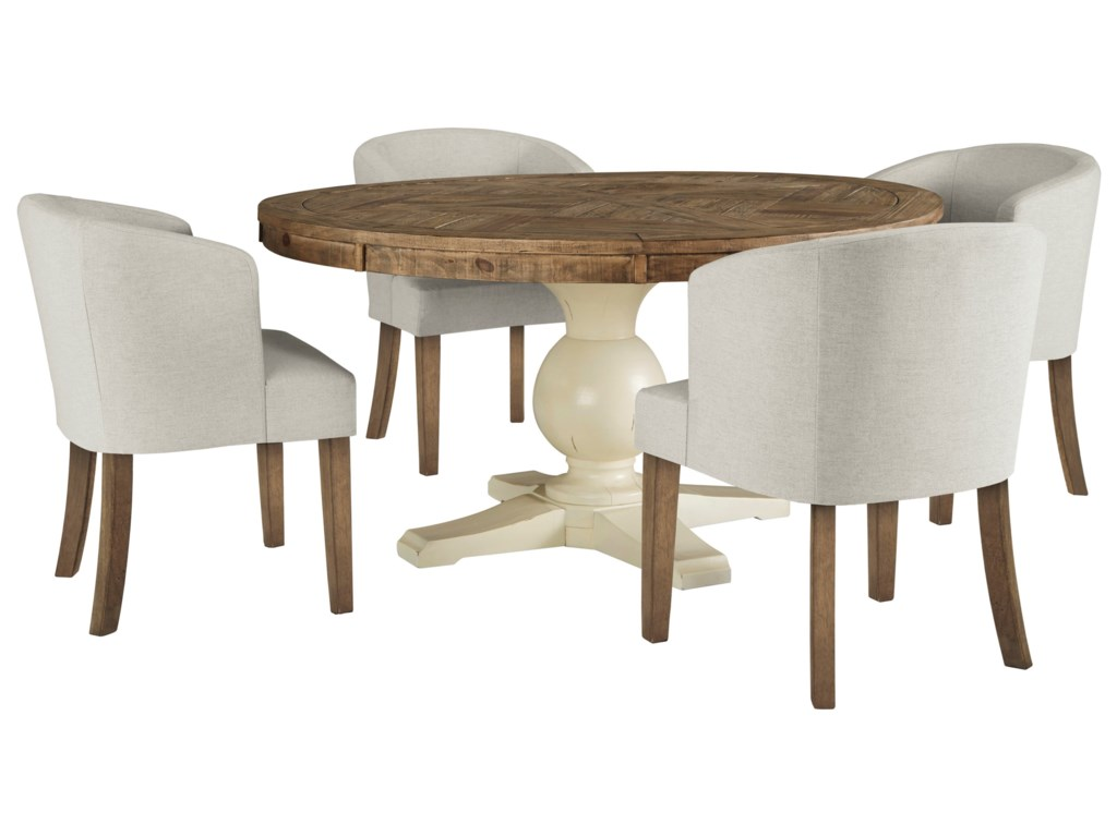 Signature Design by Ashley Grindleburg5 Piece Round Table and Chair Set