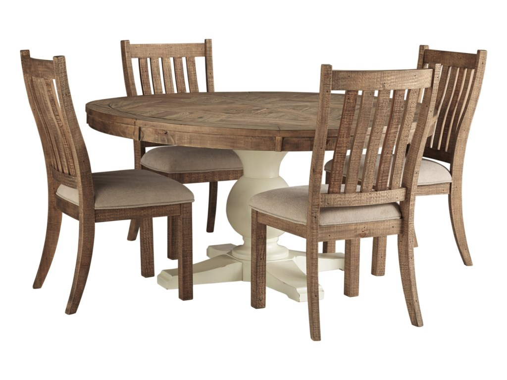 Signature Design by Ashley Grindleburg5 Piece Table and Chair Set
