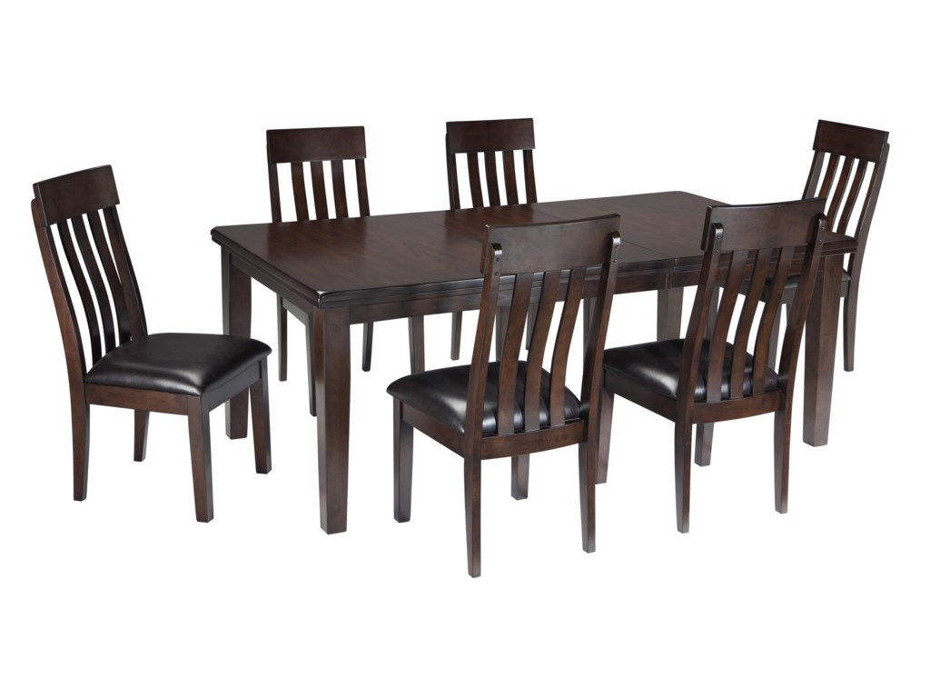 Signature Design by Ashley Haddigan7-Piece Dining Room Table & Side Chair Set