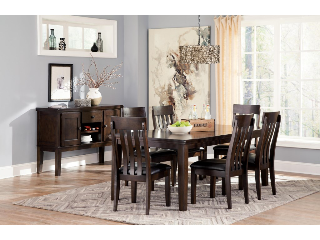 Signature Design By Ashley Haddiganextending Dining Room Table
