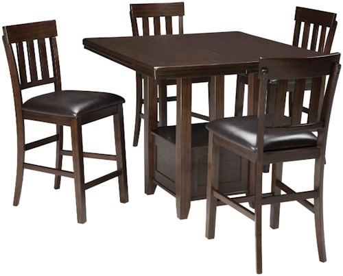 Wayside Dining Room Furniture: Signature Design By Ashley Haddigan 5-Piece Dining Room