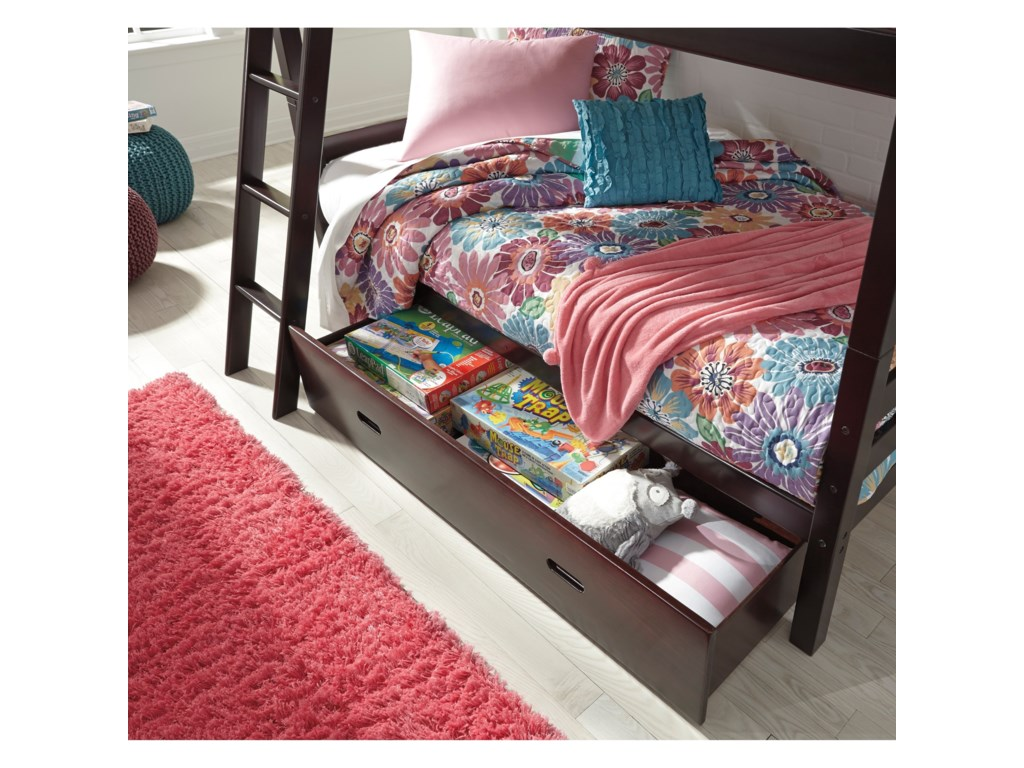 Signature Design by Ashley HalantonTwin/Twin Bunk Bed w/ Under Bed Storage
