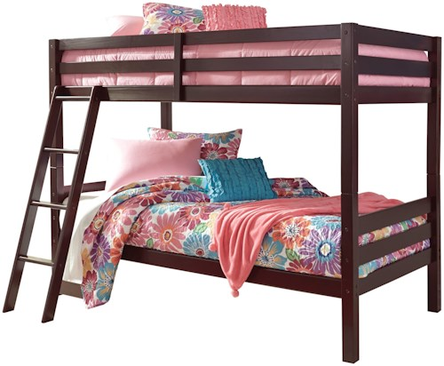 Signature Design by Ashley Halanton Solid Pine Twin/Twin Bunk Bed