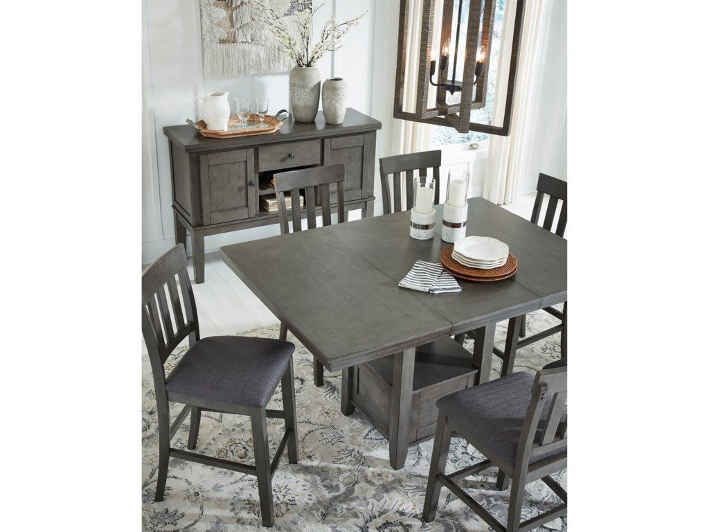 Signature Design by Ashley HallandenCounter Height Dining Table
