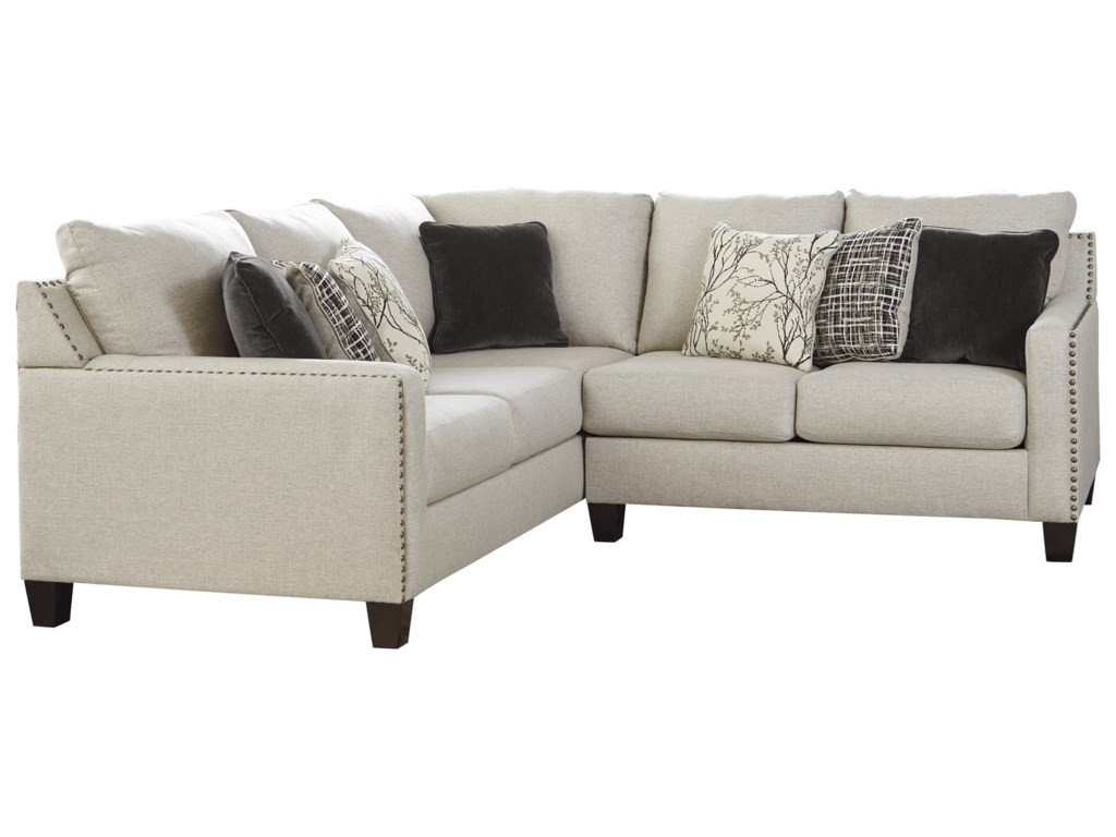 Signature Design By Ashley Hallenberg Two Piece Sectional With