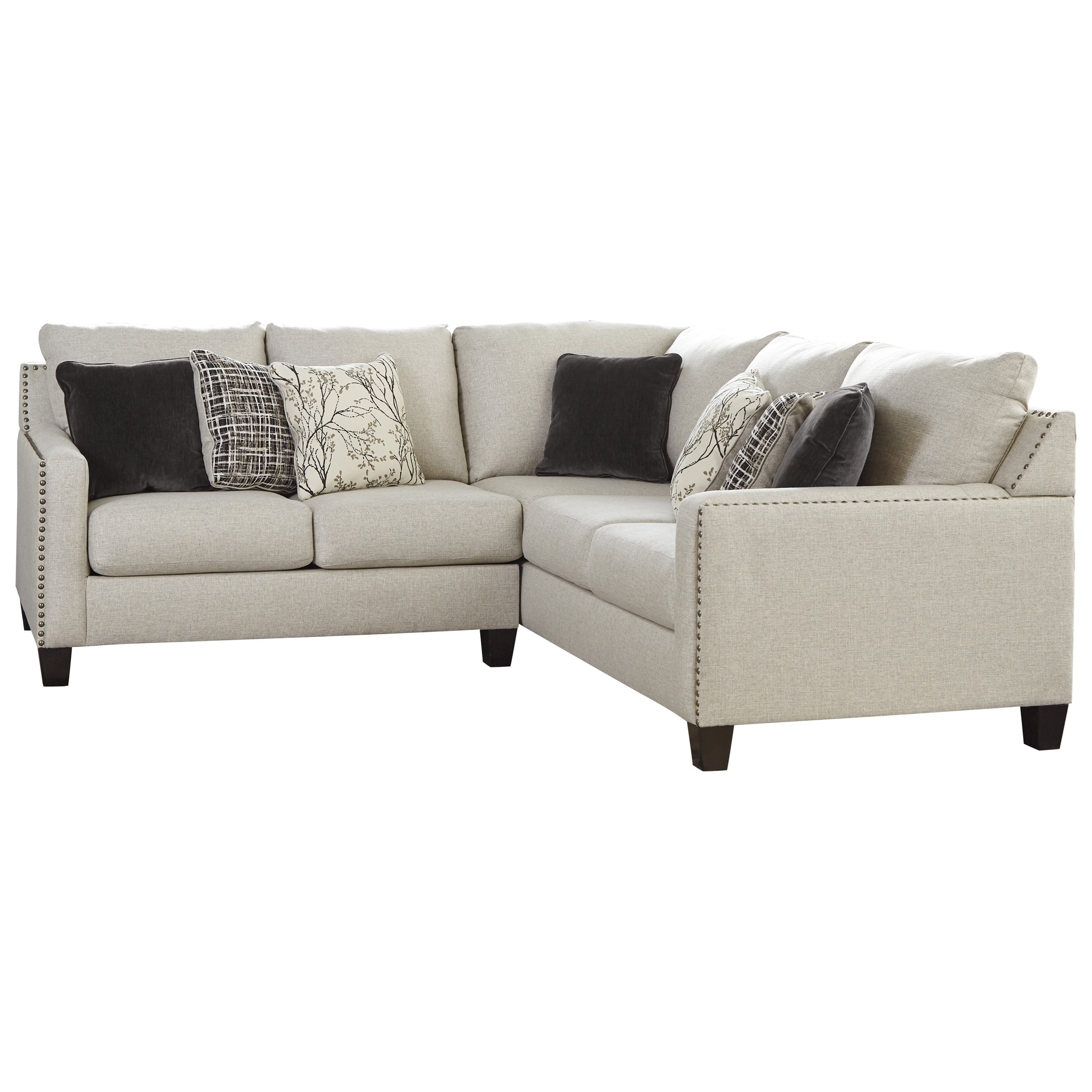 Signature Design By Ashley Hallenberg2 Piece Sectional ...