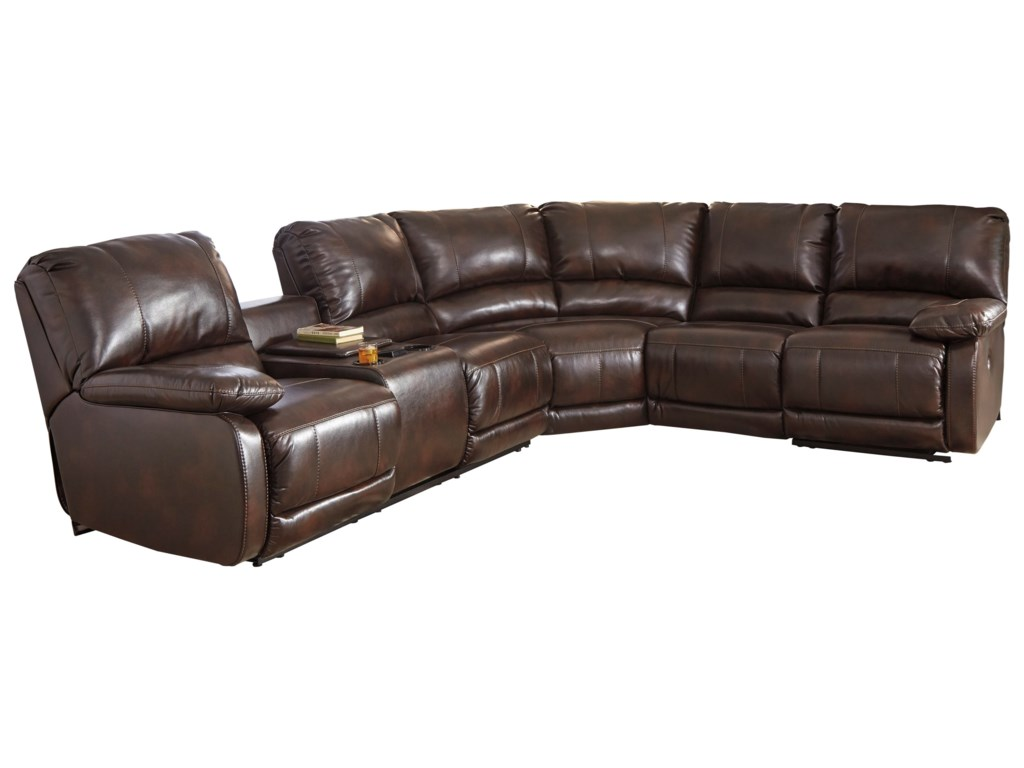 Signature Design by Ashley HallettsvillePower Reclining Sectional