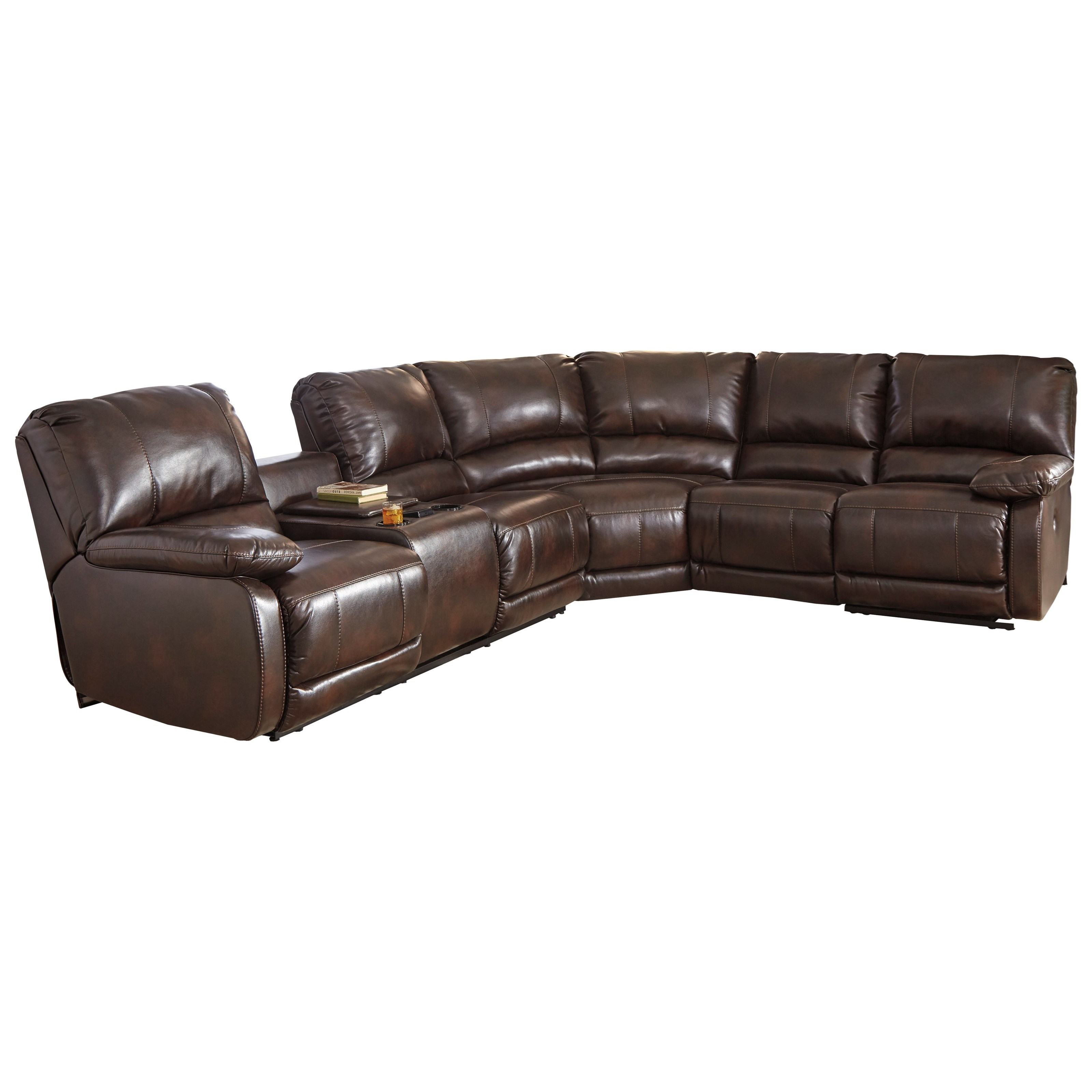 Signature Design by Ashley Hallettsville Power Reclining Sectional with Massage Heat and Cup Holder Cooling - Furniture and ApplianceMart - Reclining ...  sc 1 st  Furniture and ApplianceMart & Signature Design by Ashley Hallettsville Power Reclining Sectional ... islam-shia.org