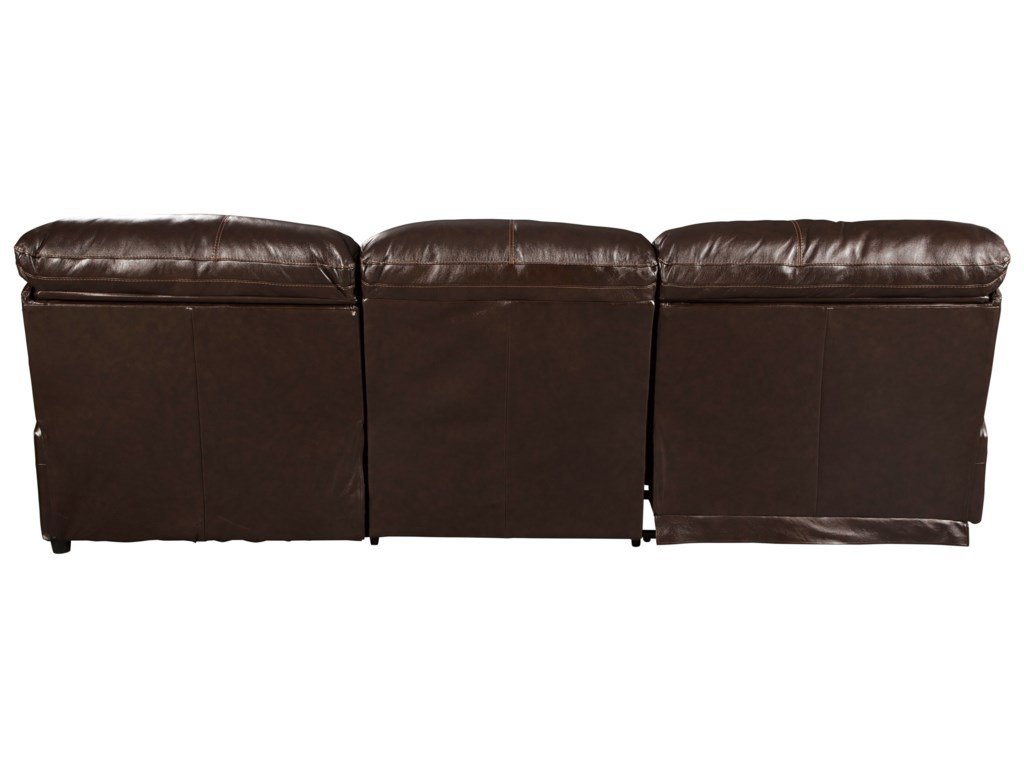 Signature Design by Ashley Hallstrung3-Piece Reclining Sectional with Chaise