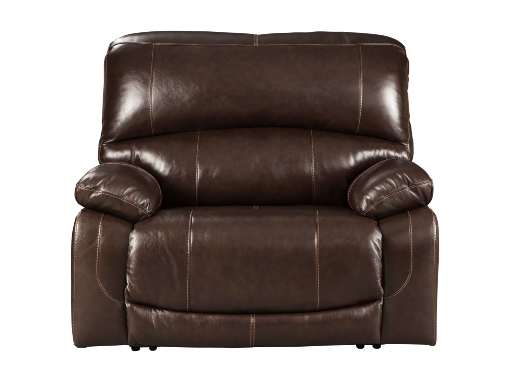 Ashley (Signature Design) HallstrungZero Wall Power Wide Recliner
