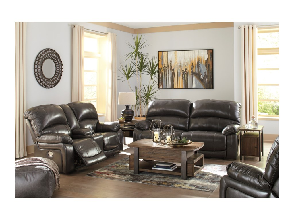 Signature Design by Ashley HallstrungPower Reclining Living Room Group