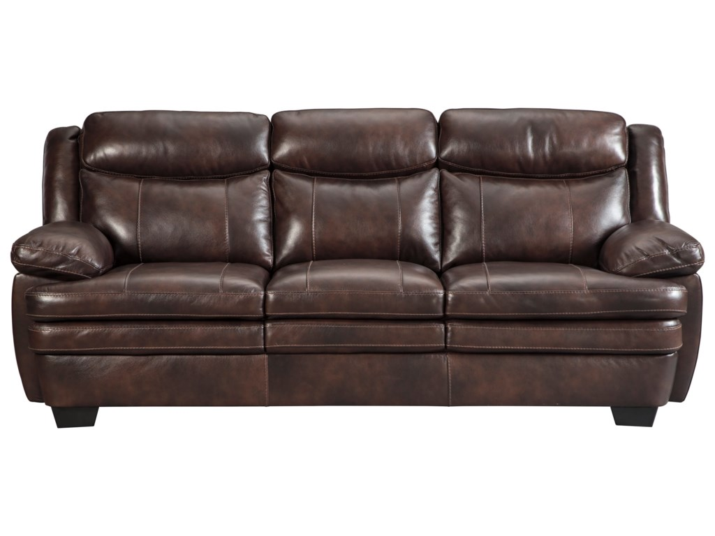 Ashley sofa leather sofas couches furniture home