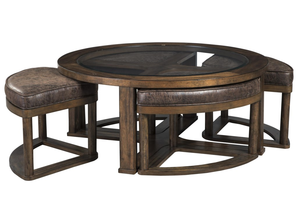 Hannery Cocktail Table End Table And Sofa Table Set