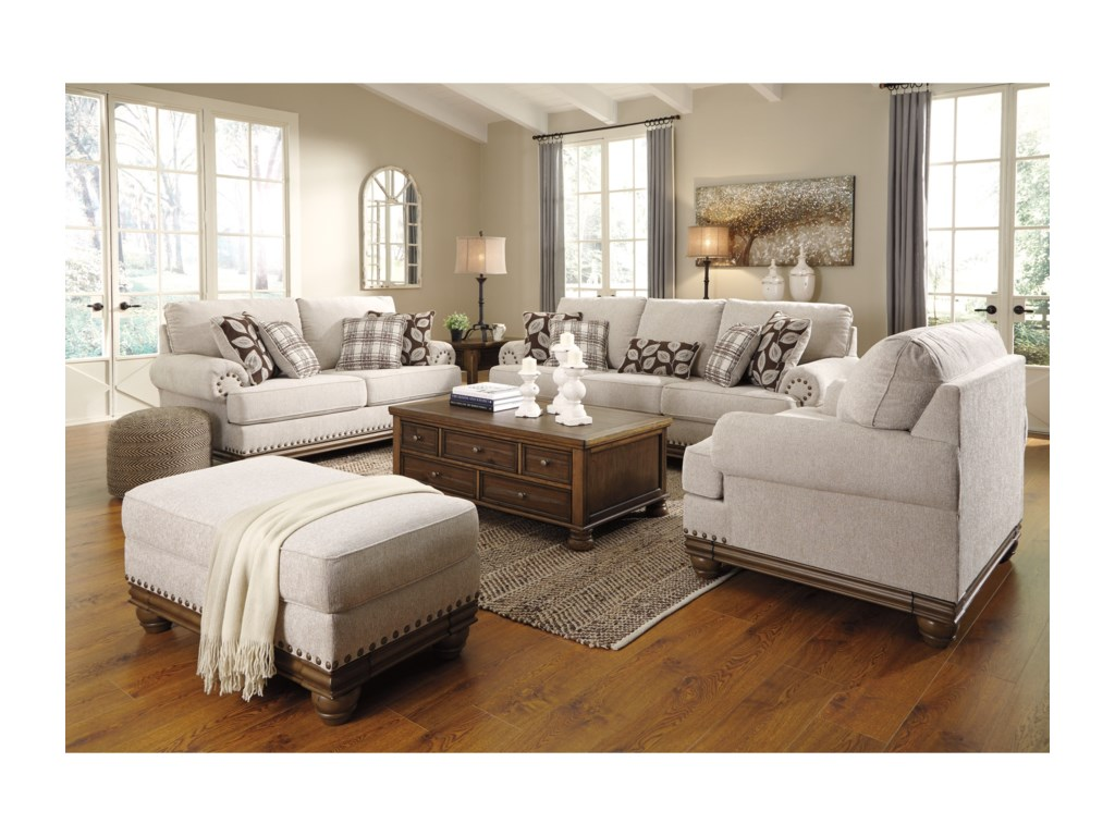 Signature Design by Ashley HarlesonStationary Living Room Group