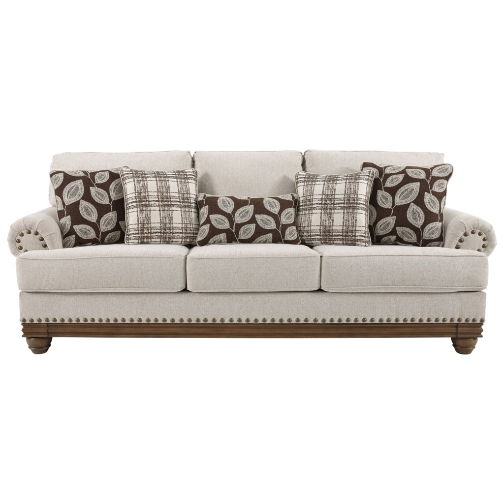 Signature Design By Ashley Harleson Transitional Sofa With  ~ What Is A Transitional Sofa