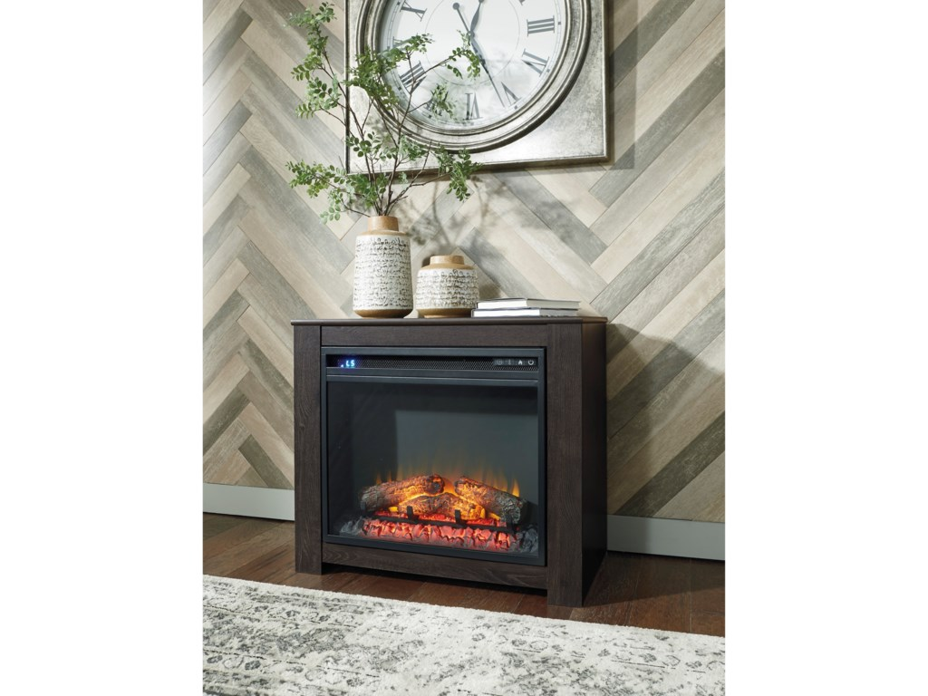 Signature Design by Ashley HarlintonFireplace Mantel with Fireplace Insert