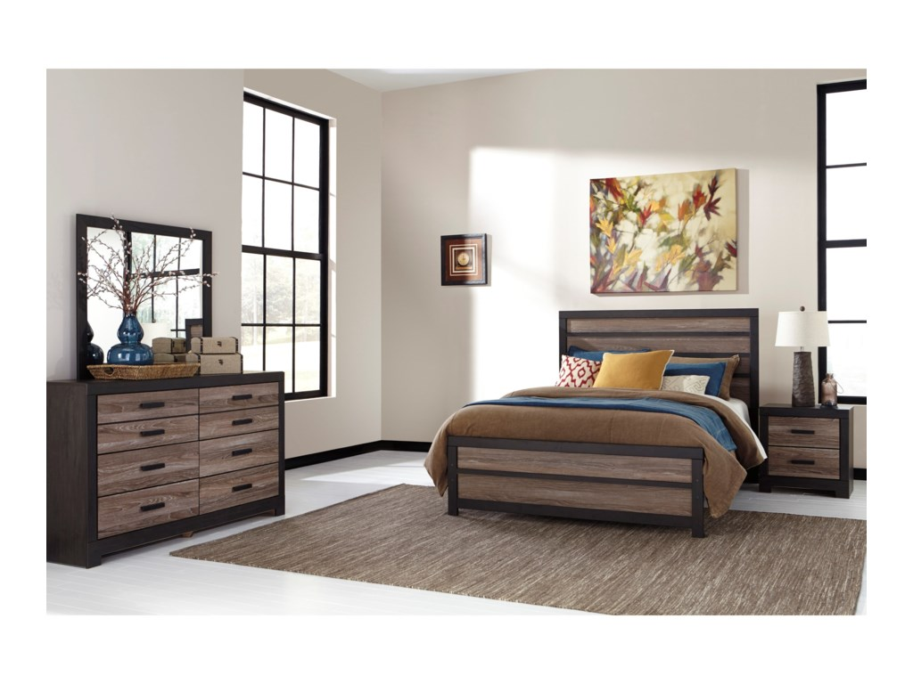 Signature Design by Ashley HarlintonQueen Bedroom Group